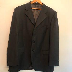 Men's designer suit business dress jacket